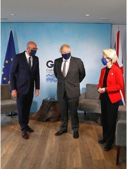 G7 Summit Cornwall Uk 2021