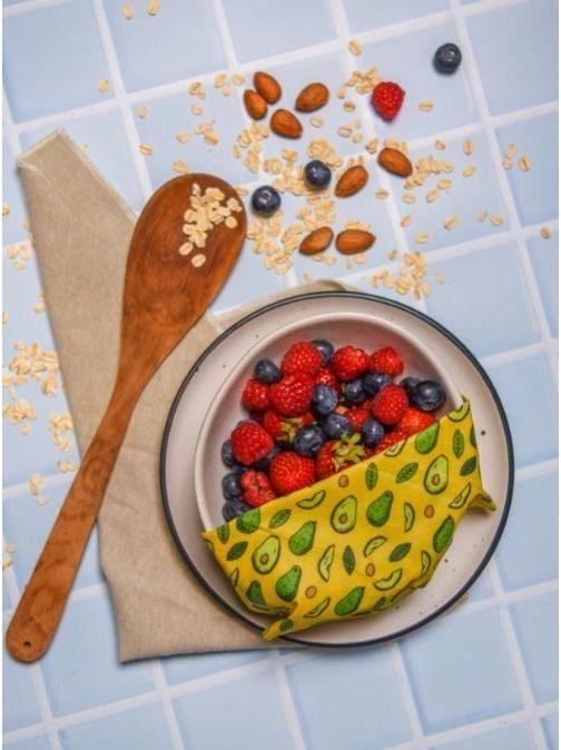 Green + Kind Vegan Food Wraps Avo