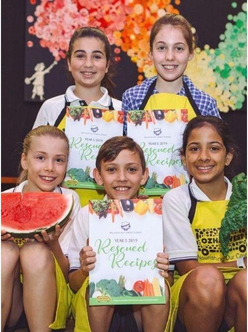 OzHarvest Feast Food Waste Primary School Kids
