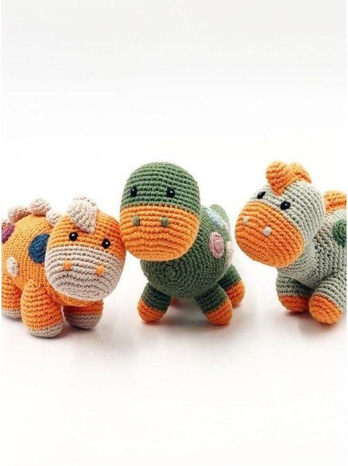 Pebble Ethical Toys Steggi Dino