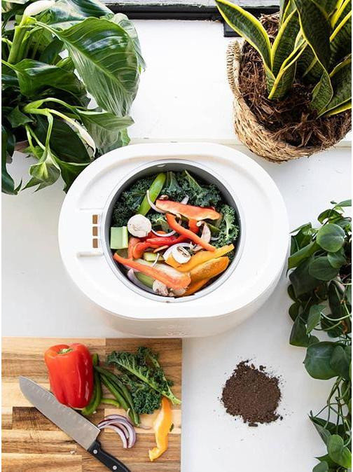 Turn Food Waste Into Compost In a Few Hours With Pela's New Lomi