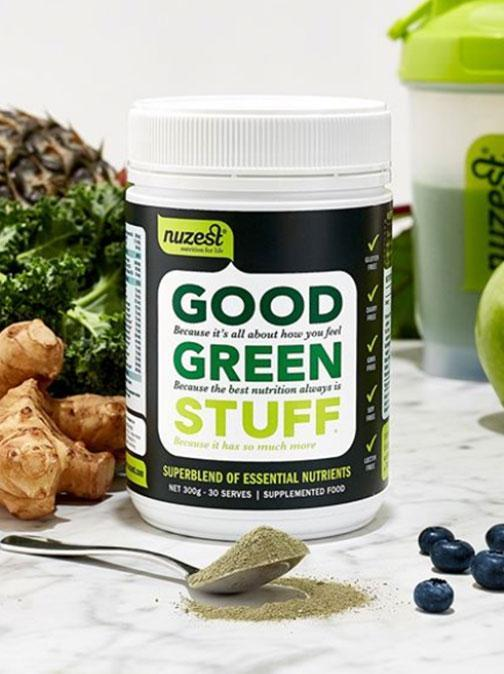 Beat the bloat with Green Stuff