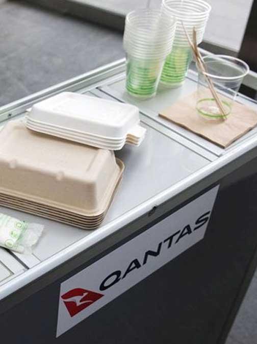Qantas Launches World First Zero Waste Flight