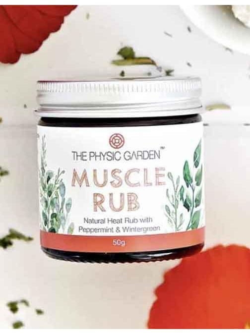 Spotlight - The Physic Garden Muscle Rub