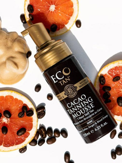 eco tan cacao mousse