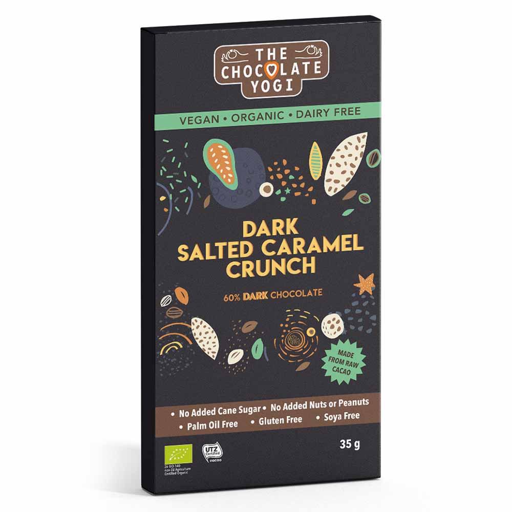 The Chocolate Yogi Dark Salted Caramel Crunch (35g)