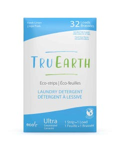 Tru Earth Laundry Detergent Eco-Strip - Fresh Linen (32 Loads)   Flora & Fauna Australia