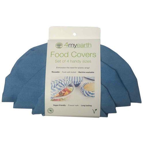 4MyEarth Food Cover Set - Denim