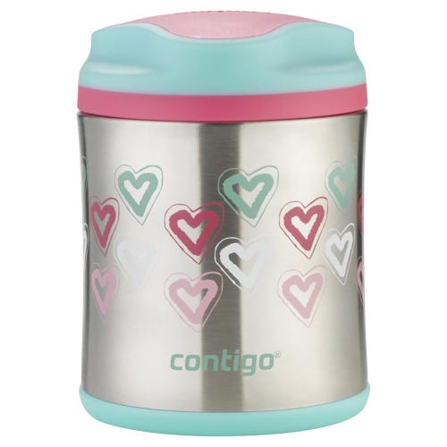 Contigo Food Jar - Hearts (300ml)