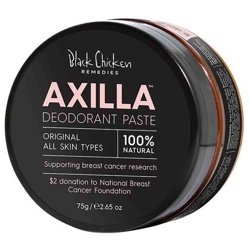 Black Chicken Remedies Axilla Deodorant Paste - Pink Edition (75g)