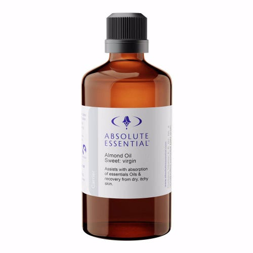 Absolute Essential Almond Sweet Carrier Oil - Virgin (100ml)
