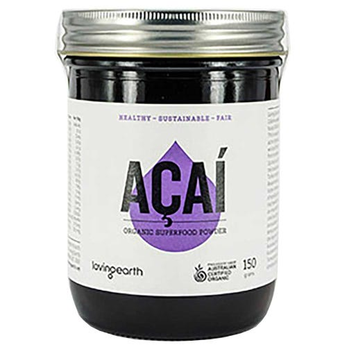 Loving Earth Acai Powder (150g)