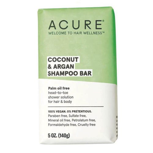 Acure Shampoo Bar - Coconut & Argan