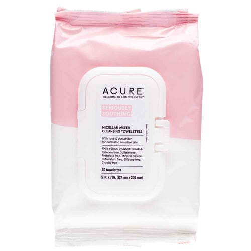 Acure Seriously Soothing Micellar Towelletes