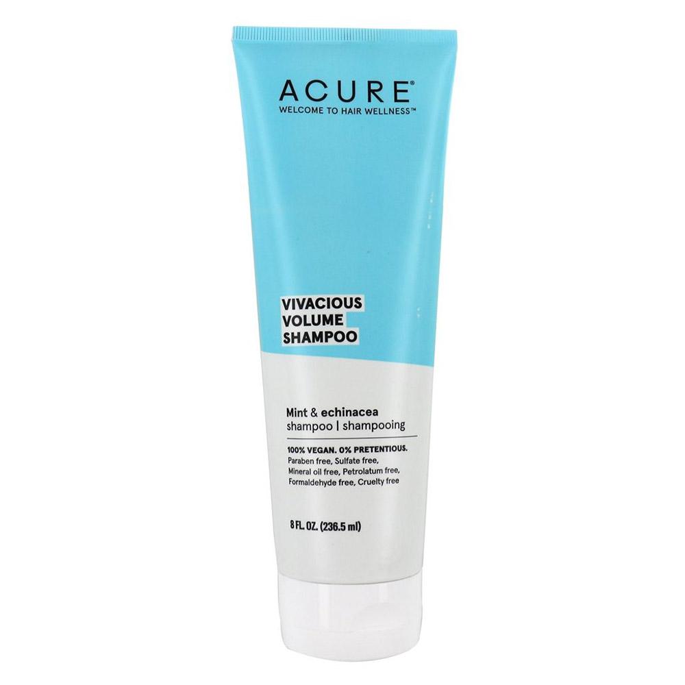 Acure Vivacious Volume Shampoo - Peppermint