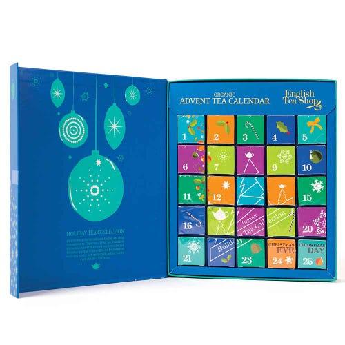 English Tea Shop Advent Calendar Blue