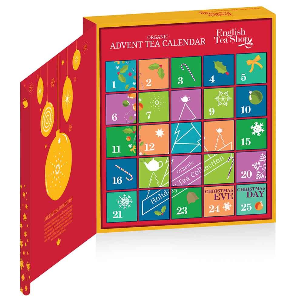 English Tea Shop Advent Calendar Red