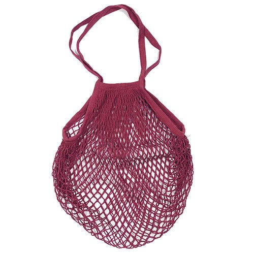 Apple Green Duck Classic String Bag - Ruby