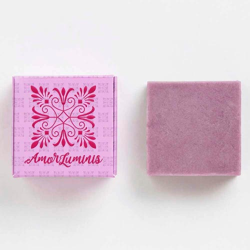 Amor Luminis Purple Conditioner Bar - Toning (60g)