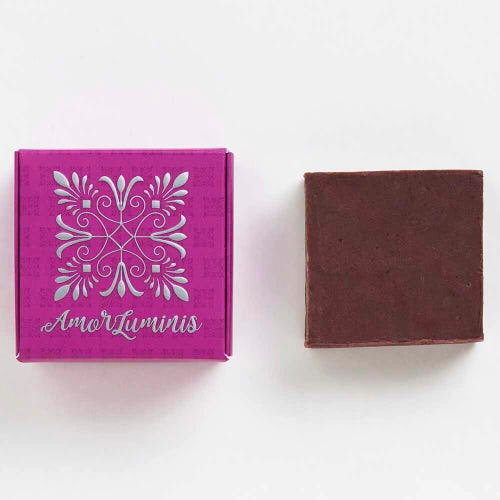 Amor Luminis Purple Shampoo Bar - Toning (60g)