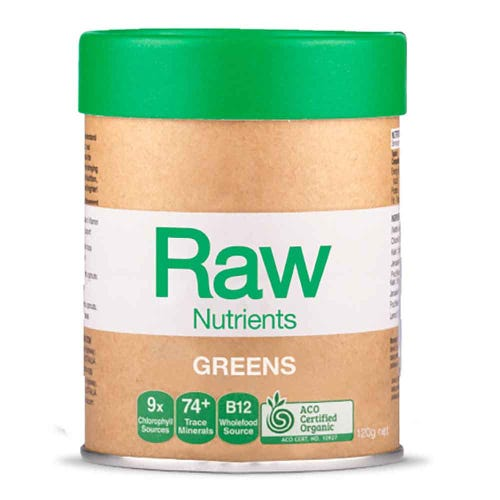 Raw Prebiotic Greens (120g)