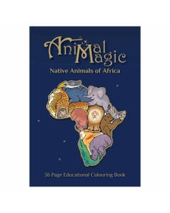 Animal Magic Colouring Book Africa | Flora & Fauna Australia