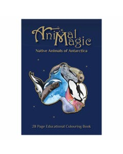 Animal Magic Colouring Book Antarctica | Flora & Fauna Australia