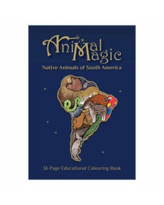 Animal Magic Colouring Book South America | Flora & Fauna Australia