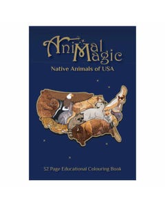 Animal Magic Colouring Book USA | Flora & Fauna Australia