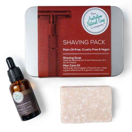 The ANSC Shaving Pack
