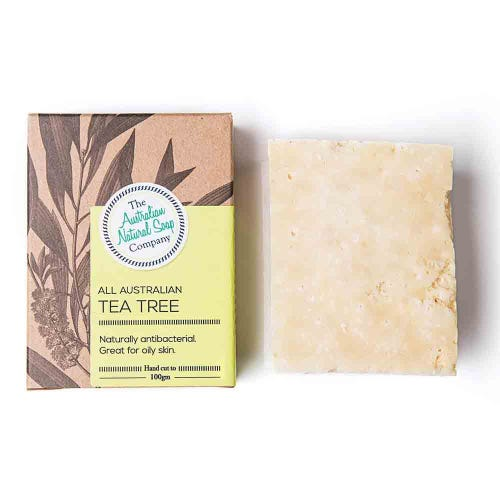 The ANSC All Australian Tea Tree Solid Soap (100g)