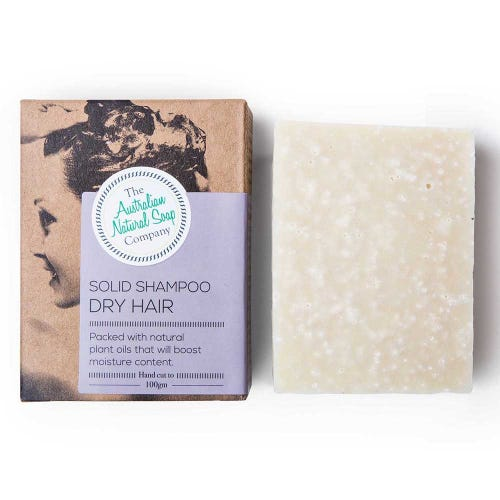 The ANSC Solid Shampoo for Dry Hair (100g)