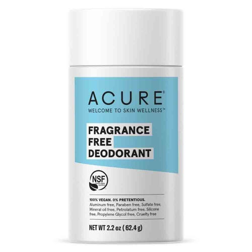 Acure Natural Deodorant - Fragrance Free (63g)