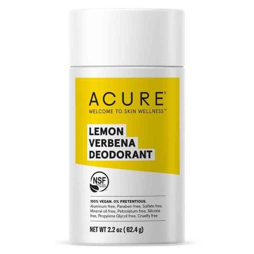 Acure Natural Deodorant - Lemon Verbena (63g)