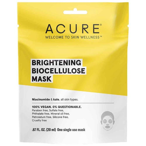 Acure Brightening Biocellulose Mask (20ml)