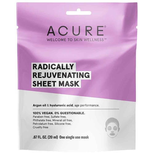 Acure Radically Rejuvenating Sheet Mask (20ml)