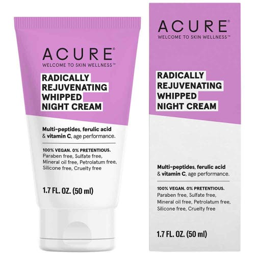 Acure Radically Rejuvenating Whipped Night Cream (50ml)