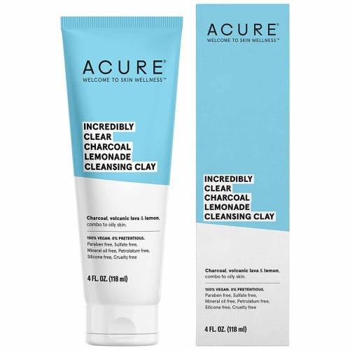 Acure Incredibly Clear Cleansing Clay (118ml)