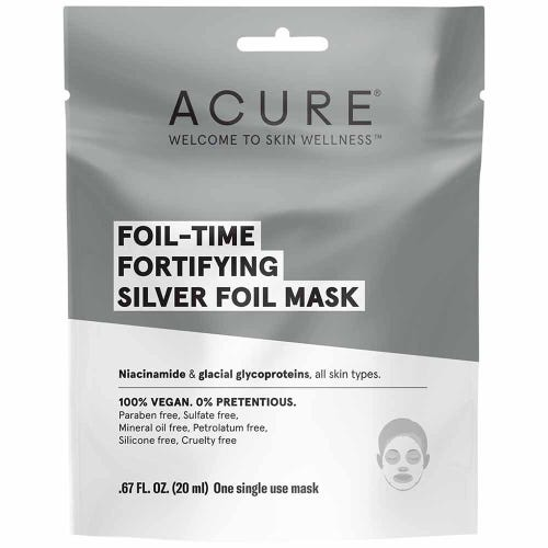 Acure Fortifying Silver Foil Mask (20ml)