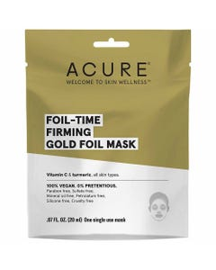 Acure Firming Gold Foil Mask (20ml)