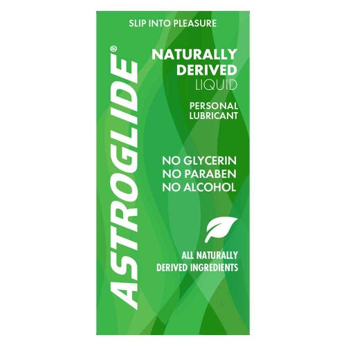 Astroglide Naturally Derived Lubricant Sachet (4ml)