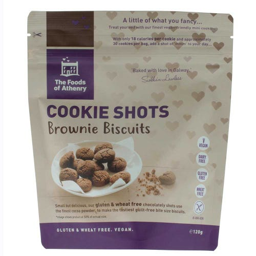 The Foods Of Athenry Brownie Biscuit Cookie Shots (120g)