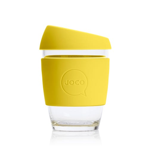 JOCO Reusable Glass Cup Meadowlark (12oz)