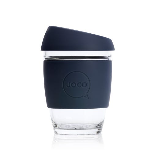 JOCO Reusable Glass Cup Mood Indigo (12oz)