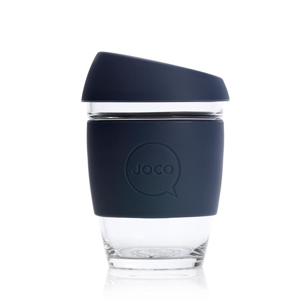 JOCO Reusable Glass Cup Mood Indigo (12oz)