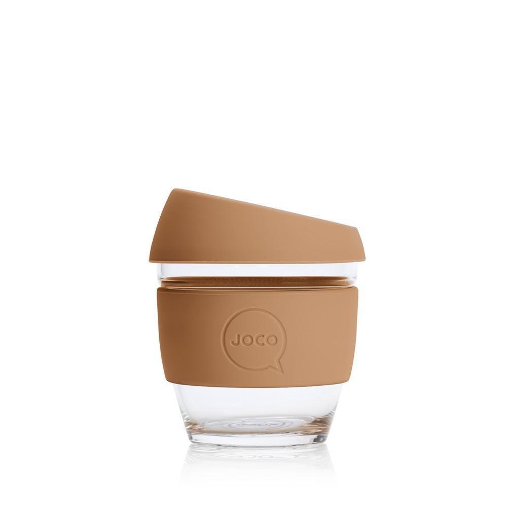 JOCO Reusable Glass Cup Butterrum (4oz)