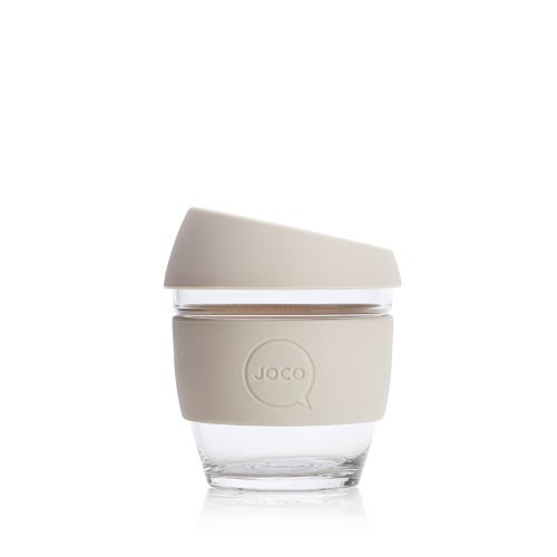JOCO Reusable Glass Cup Sandstone (4oz)