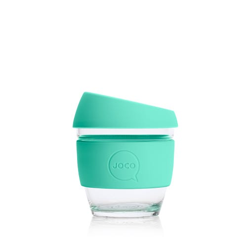 JOCO Reusable Glass Cup Vintage Green (4oz)
