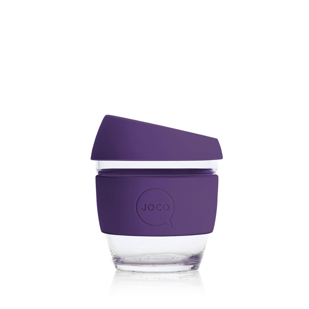 JOCO Reusable Glass Cup Violet (4oz)
