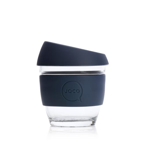 JOCO Reusable Glass Cup Mood Indigo (8oz)